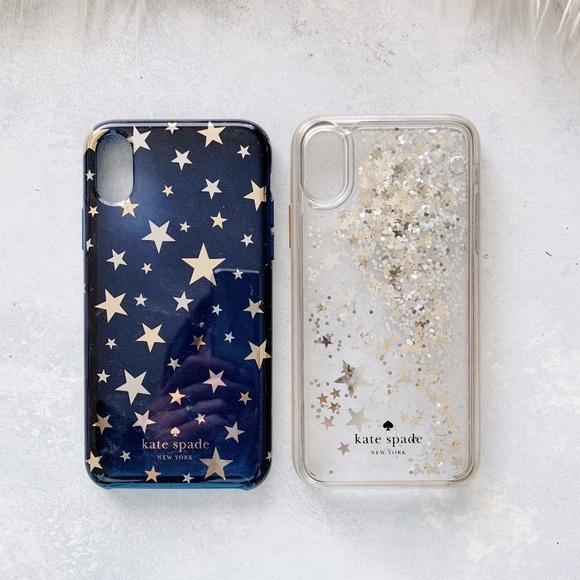 official photos 4f324 b8fcb Kate Spade iPhone X Star Case Bundle